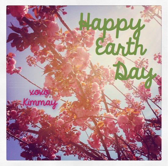 Happy Earth Day from Hurray Kimmay!