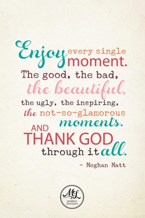 Enjoy every moment via Hurray Kimmay