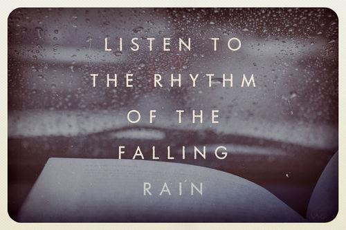 Listen to the rhythm of the falling rain via Hurray Kimmay